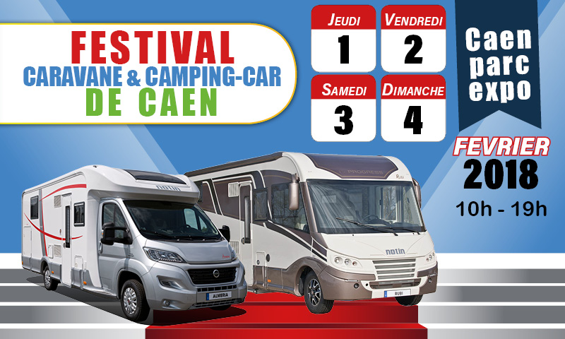 festival du camping car de caen du 1 au 4 f vrier notin. Black Bedroom Furniture Sets. Home Design Ideas