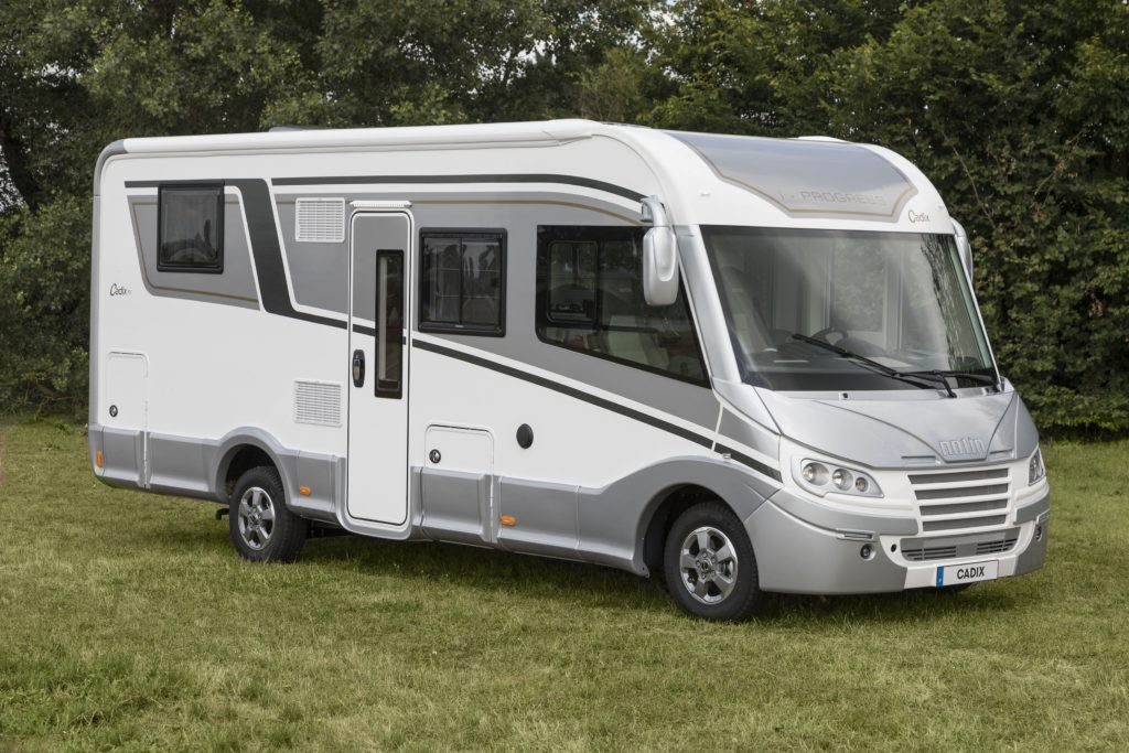 new integrated motorhome