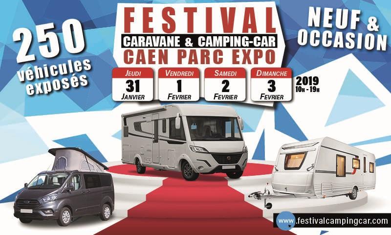 Festival de la caravane et du camping-car de Caen du 31/01 au 3/02