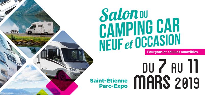 Salon du Camping-car neuf et d'occasion de Saint-Etienne