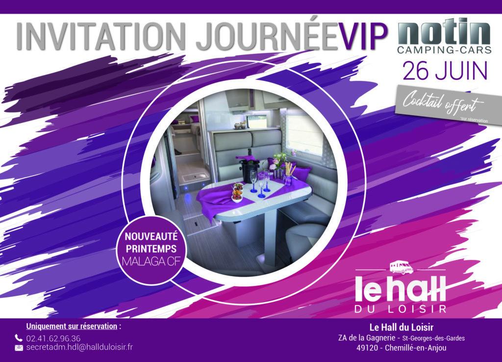 Journée VIP hall du loisir 26 juin