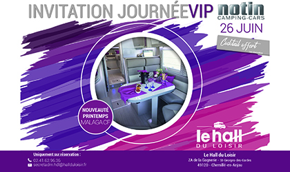 Journée VIP Notin hall du loisir 26 juin