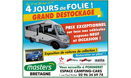 4 jours de folie espace camping-car bretagne