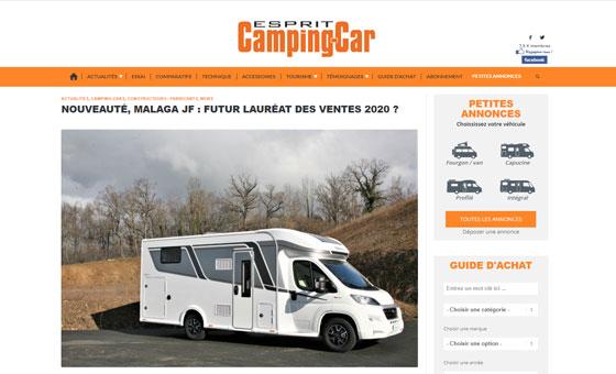Miniature_ Article Malaga JF - Esprit Camping-car